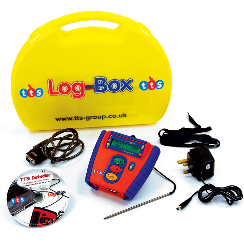 TTS Log-Box USB Datalogger (Pack of 6) - IDLGU6