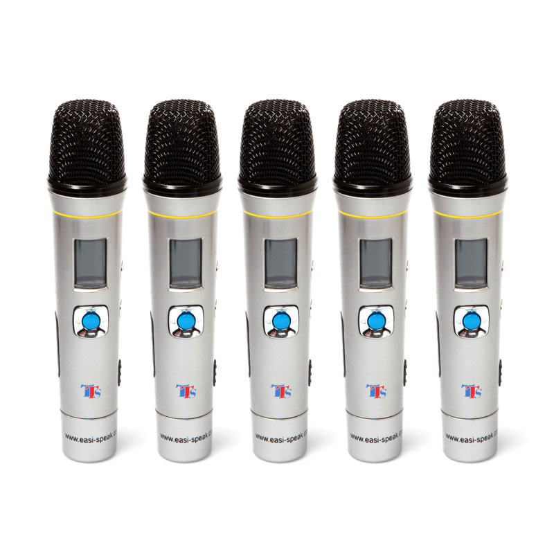 TTS Easi-Speak Pro Microphone (Pack of 5) - EL00060