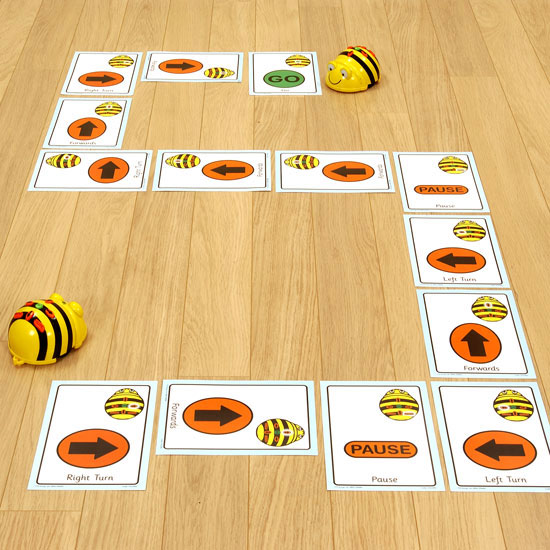 Buy Tts Giant A5 Bee Bot Sequence Cards Set Of 49 Cards
