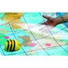 TTS Bee-Bot Mat - Transparent Grid - ITSGRID