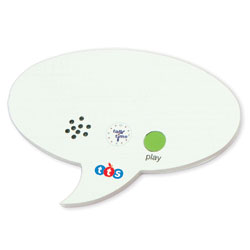 TTS Talk Time Mini Recordable Speech Bubble (Pack of 3)