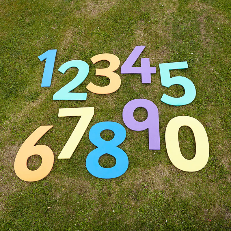 TTS Giant Numbers - Set of 10 (Numbers 0-9) - EY00265