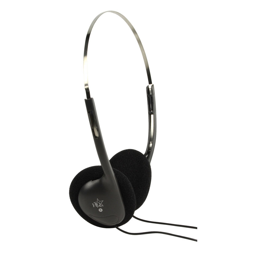 Lightweight PC/Computer Stereo Headphones (3.5mm Plug) - HQ-HP112LW