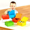 TTS Rainbow Talking Boxes (Pack of 6) - EL00147