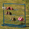 TTS Children's Metal Wellie Rack Stand - Single Sided (15 Pairs of Welly Boots)