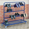 TTS Metal Wellie Rack Stand - Double Sided (30 Pairs of Boots)
