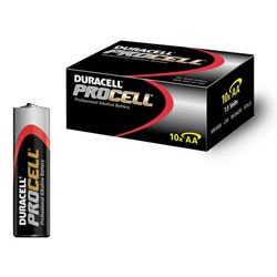 Duracell Procell/Industrial AA Batteries (Box of 10) - DUR-PROCELL-AA-10