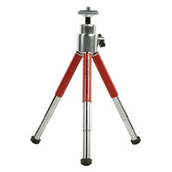 Mini Camera Tripod - Red - TRIPODM-RED