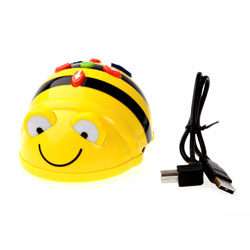 TTS Rechargeable Bee-Bot Class Bundle - 6x Bee-Bots & Docking Station [EL00396]