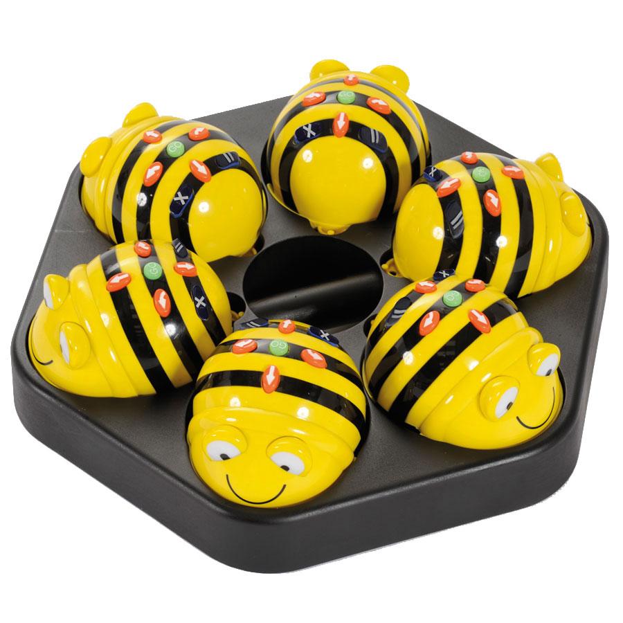 Tts Rechargeable Bee Bot Class Bundle 6x Bee Bots