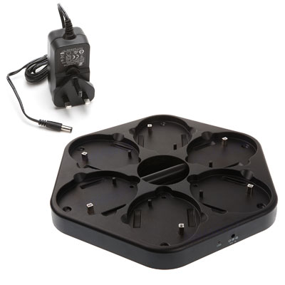 TTS Rechargeable Bee-Bot Docking Station (including Power Adaptor) - for 6x Rechargeable Bee-Bots/Blue-Bots - EL00358