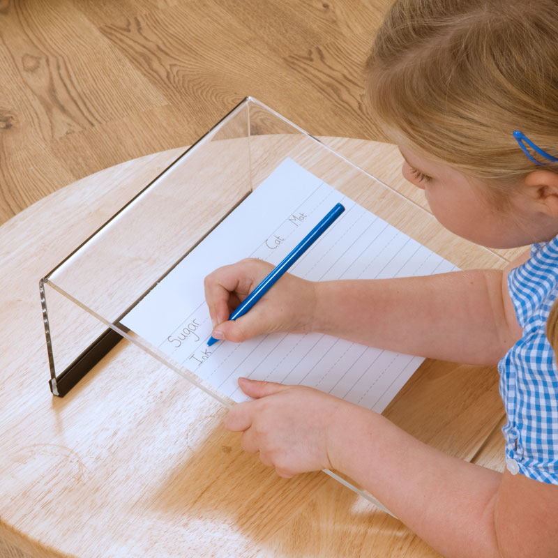 TTS Clear Writing Slope (Pack of 5) - SD08053