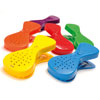 TTS Rainbow Recordable Pegs (Set of 6)