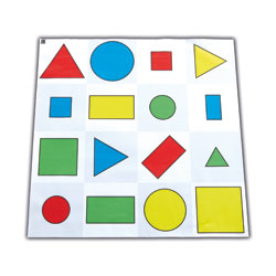 TTS Bee-Bot Mat - Shapes, Colour & Size