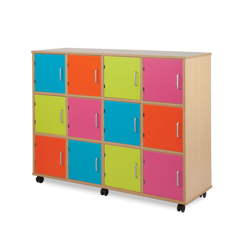 Bubblegum Easy-Access Lockers (Non-Lockable) - MEQ9001