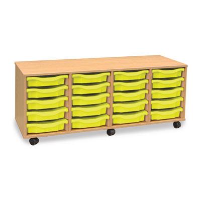 20 Shallow Tray Storage Unit - MEQ20W