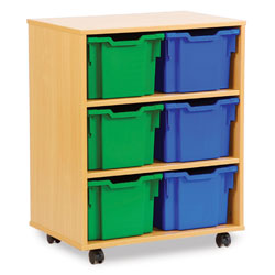 6 Extra Deep Tray Storage Unit