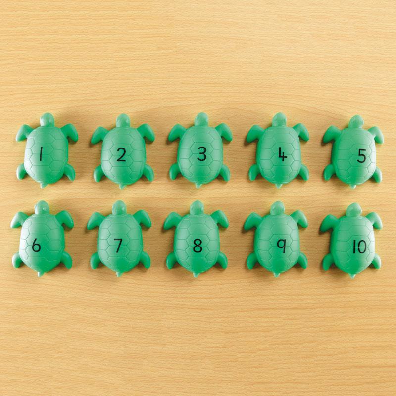 TTS Talking Turtles - (Set of 10) - EY06599