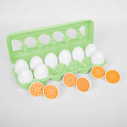 TickiT Number Match Egg Set