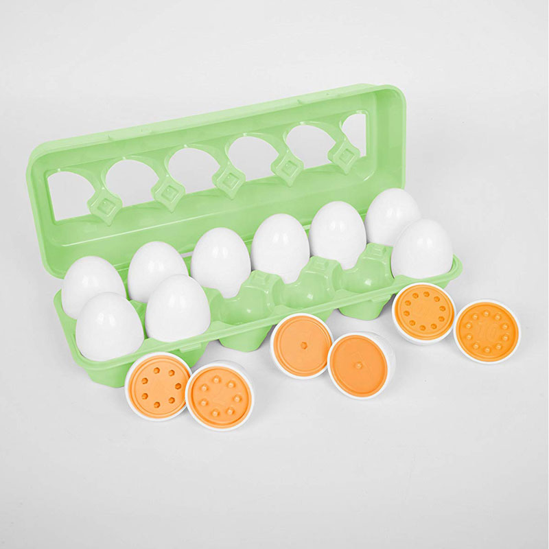 TickiT Number Match Egg Set - CD74066