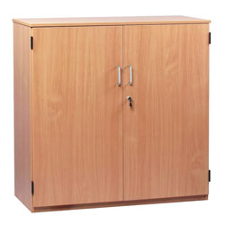 School Storage Cupboard: Height 1000mm - with Lockable Doors