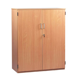 School Storage Cupboard: Height 1250mm - with Lockable Doors