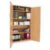 School Storage Cupboard: Height 1800mm - with Lockable Doors