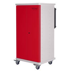 CompuCharge TabCharge 15 Charging Trolley - for 15 Units in Red