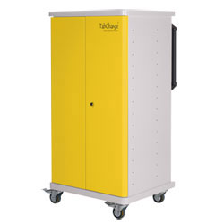 CompuCharge TabCharge 15 Charging Trolley - for 15 Units in Yellow - TABCHARGE-15/YELLOW