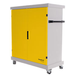 CompuCharge ChargeBox 30 Charging Trolley - for 30 Units in Yellow - CHARGEBOX-30/YELLOW