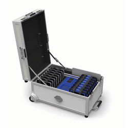 GoCabby 16 Bay Tablet Trolley - Charge & Sync