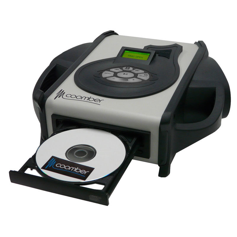 Coomber 3325 Listening Centre in Graphite Black with CD & 3.5mm Audio Input - 3325