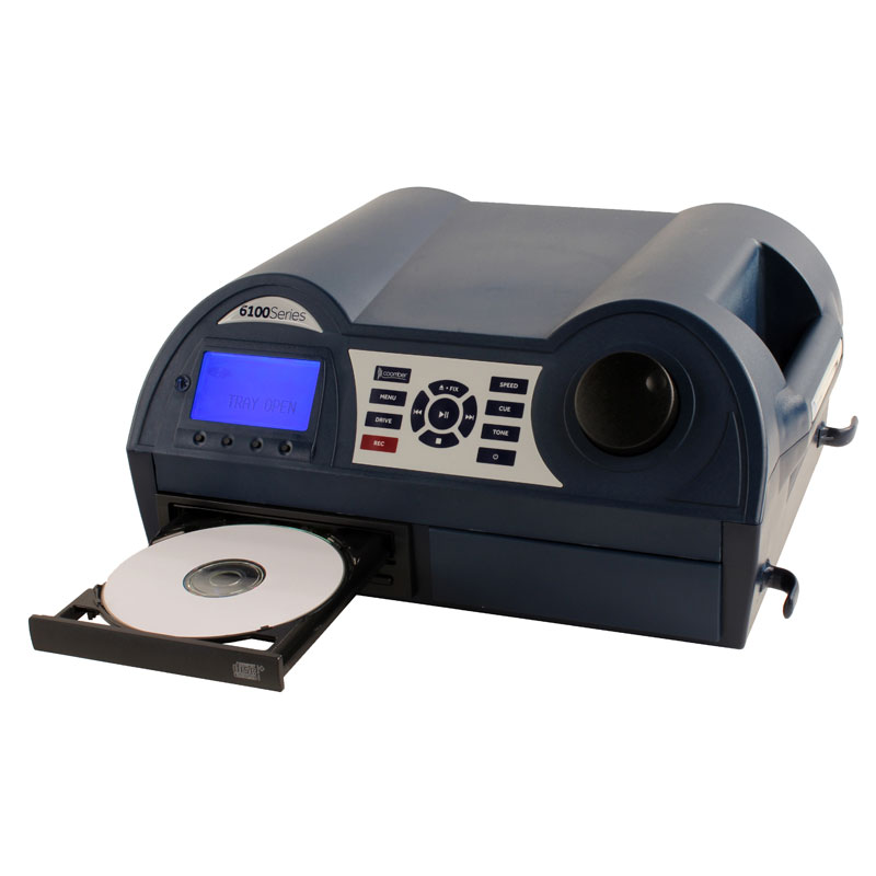 Coomber 6120 Listening Centre in Dark Blue with CD/USB Recording & Phono Audio Inputs - 6120