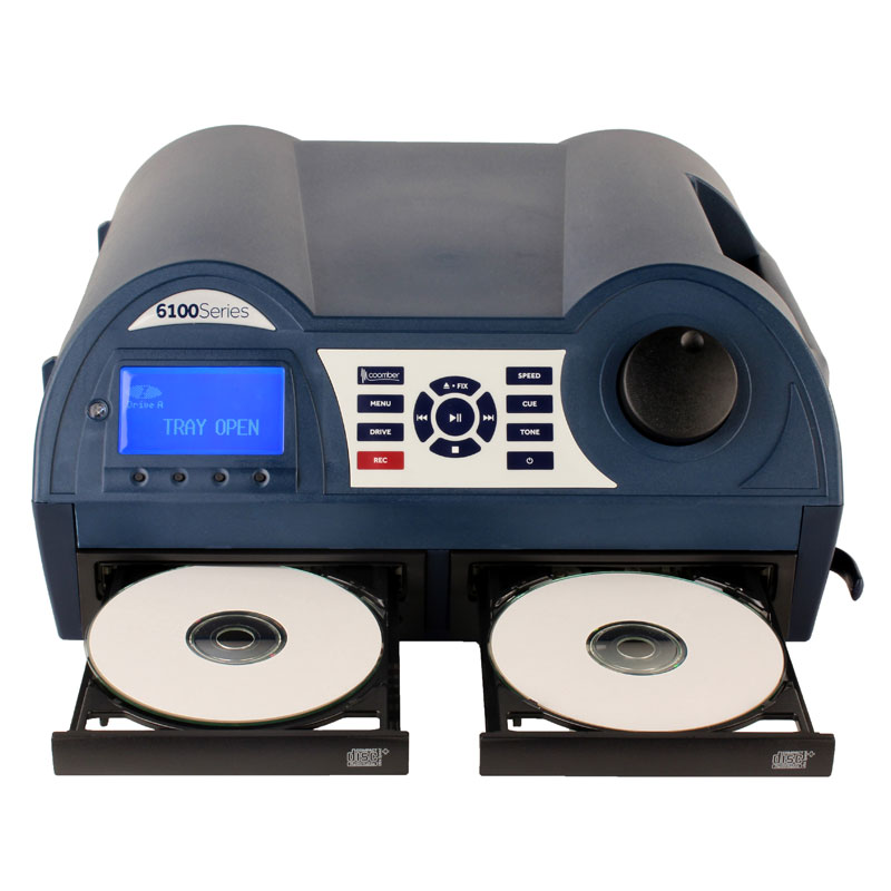 Coomber 6130 Listening Station in Dark Blue with CD/USB Recording & Phono Audio Inputs - 6130