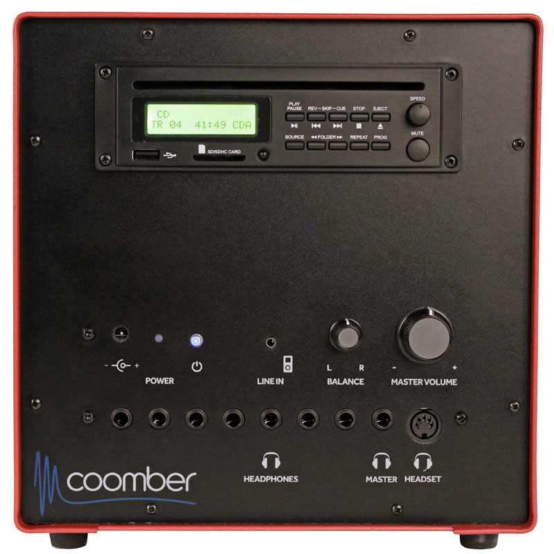 Coomber 44270 Listening Centre with CD/USB/SD/3.5mm Audio Inputs - 44270