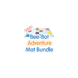 TTS Bee-Bot Mats - Adventure Bundle (6 Mats) - BBMAT-BUN2
