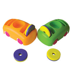 Bumper Car and Ring Magnet Set [CD50183]