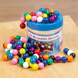 Magnetic Marbles Tub - Set of 100