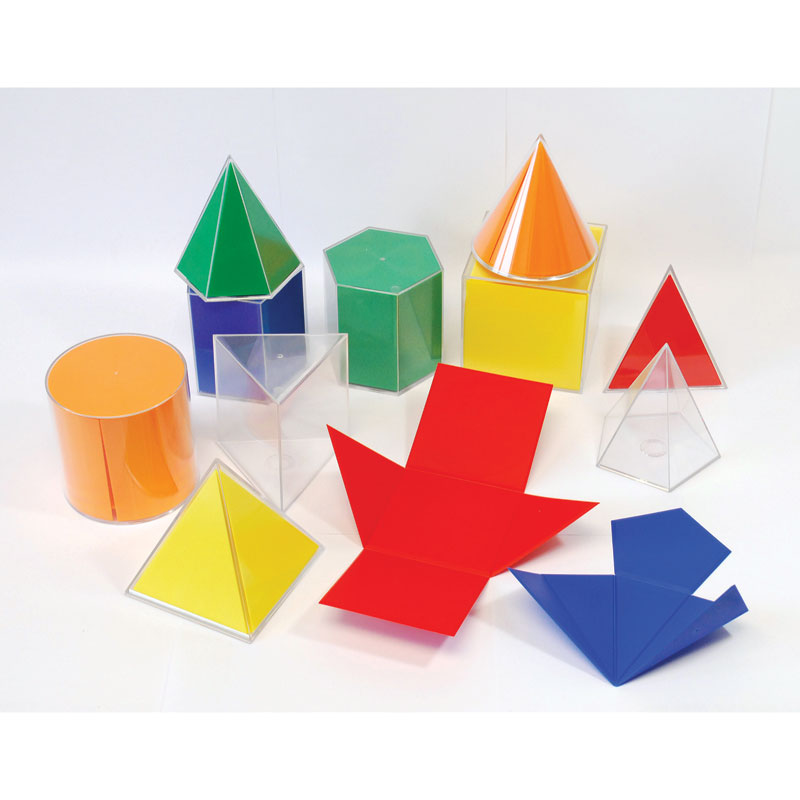 Folding Geometric Shapes - Set of 11 - CD52311