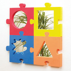Jigsaw Softies Mirrors - Set of 4