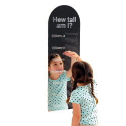 How Tall Am I? Mirror