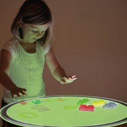 Large Round Colour-Changing Light Panel - 700mm