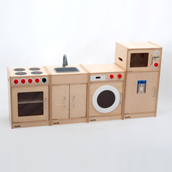 TickiT Wooden 5-Feature Kitchen
