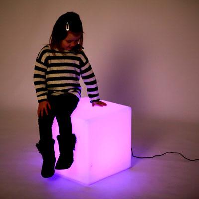 Sensory Mood Light Cube - 400mm - CD75544