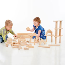 Jumbo Blocks - Set of 54 Pieces