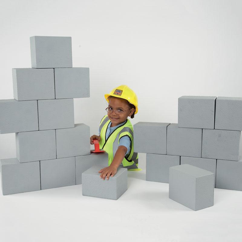 TTS Role Play Foam Breeze Blocks - Pack of 20 - EY01170