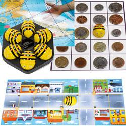 TTS Rechargeable Bee-Bot Group Starter Bundle - 6x Bee-Bots & Docking Station & 4x Mats
