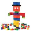 2cm Rainbow Linking Cubes - Set of 1000 - CD53837