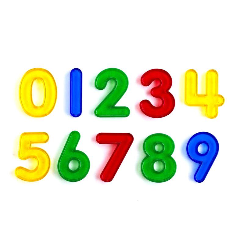 Transparent Number Set - CD75116