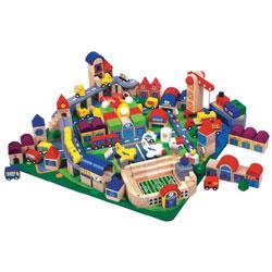 City Blocks Set 2 - Set of 164 pieces